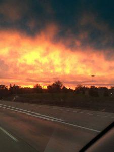 A sunrise near Kalamazoo, MI