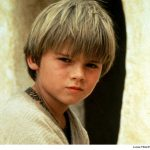 young Anakin Skywalker