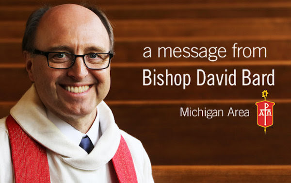 image of Bishop David Bard, bishop of the Michigan Annual Conference of The United Methodist Church