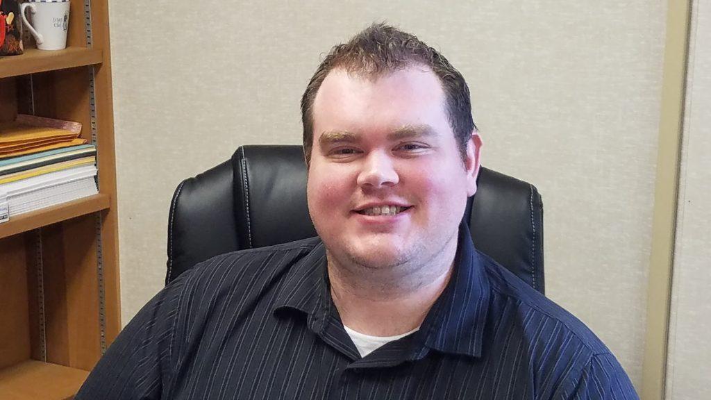 face of Chuck Hollandbeck
