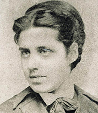 """Emma Lazarus, author of the poem, """"The New Colussus"""""""
