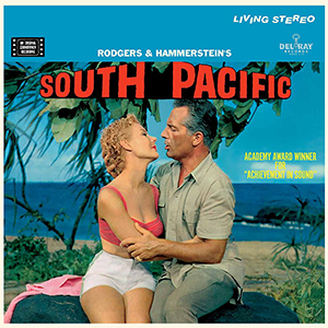 "poster for the film ""South Pacific"""